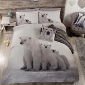 Polar Bear Christmas Duvet Set