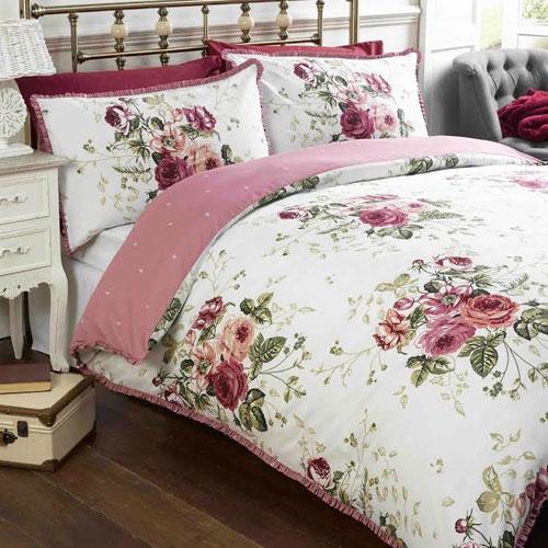 Marcella Pink Duvet Set
