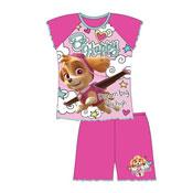 Girls Toddler Paw Patrol Shortie Pyjamas