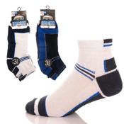 Mens ProHike Trainer Socks Dark