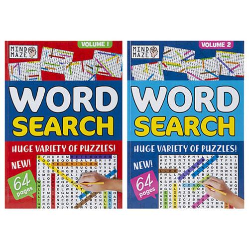 A4 Bumper Word Search Puzzle Book