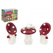 Secret Fairy Garden Toads Tool Tea Set