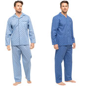 Mens Traditional Paisley Pyjama Set