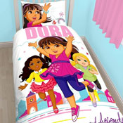 Dora & Friends Citygirl Reversible Duvet Single