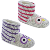 Kids Knitted Owl Bootee