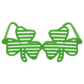 St Patrick's Day Adult Shamrock Shutter Glasses