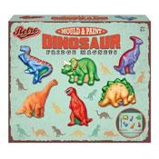 Retro Dinosaur Fridge Magnets Mould And Paint