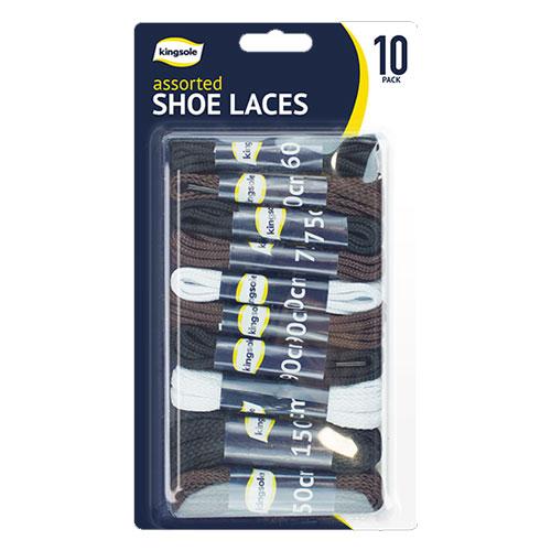 Shoe Laces 10 Pack