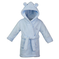 Baby Elephant Robe Blue