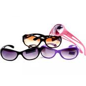 Pear Shaped Plastic Sunglasses
