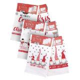 Christmas Design Tea Towels 3 Pack