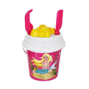Mermaid Bucket Set With Spade, Rake & Mould