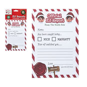 Christmas Elf Reports 25 Pack