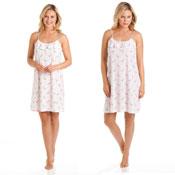 Ladies Cotton Rich Flamingo Nightdress