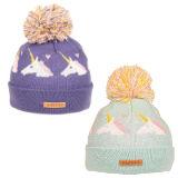 Girls Unicorn Bobble Hat