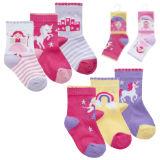 Baby Girls 3 Pack Fairy And Unicorn Socks