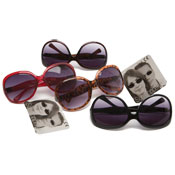 Deluxe Fashion Plastic Frame Sunglasses