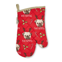 Bah Humpug Christmas Single Oven Glove