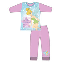 Girls Older Official Tinkerbell Pyjamas