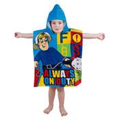 Kids Fireman Sam Towel Poncho