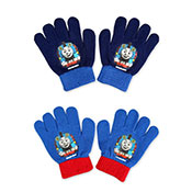 Official Childrens Thomas The Tank Engine Knitted Gloves