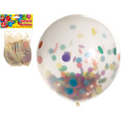 Confetti Balloons 5 Pack