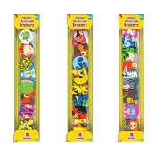 Alphabet Animal Erasers 8 Pack
