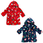 Baby Christmas Printed Dressing Gown