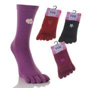 Novelty Toe Socks