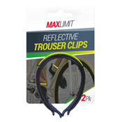 Reflective Trouser Clips 2 Pack