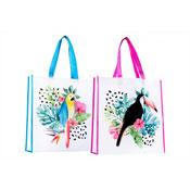 Flamingo/Cactus Reusable Shopping Bag