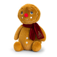 Keel-eco Gingerbread Man With Scarf