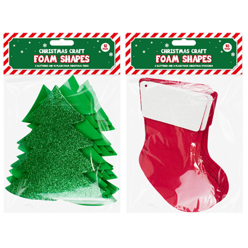 Christmas Craft Large Foam Pack