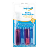 Travel Toothbrushes 4 Pack