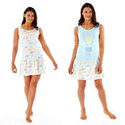 Ladies Skirt Nightdress Rise and Shine
