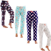 Ladies All Over Print Lounge Pants 4 Animal Designs