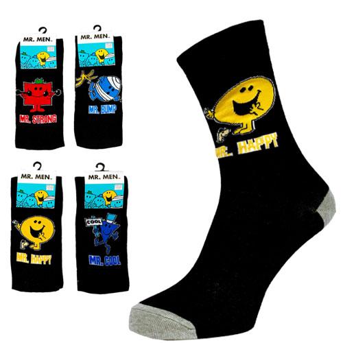 Mens Mr Men Character Socks Carton Price