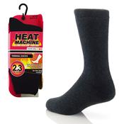 Ladies Heat Machine Thermal Socks Black