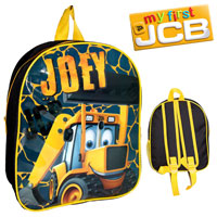 Official Joey JCB Nursery Backpack With Mesh Black