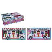 Ice Cream Cone Design Erasers In Van Box