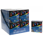 50 Multi-Coloured LED Lights