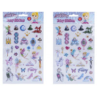 Fairy Vinyl Puffy Stickers 30 Pack