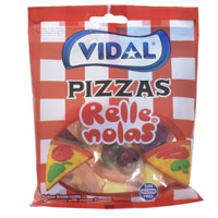 Jelly Filled Pizza Sweets 100g Bag