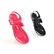 Ladies Jelly Sandal with Bow