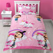 Despicable Me Unicorn Reversible Duvet Set