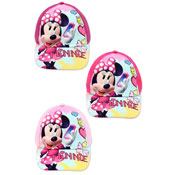 Childrens Minnie Mouse Baseball Cap 3 Designs