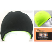 Hi Vis Reversible Fleece Beanie Hat