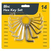 Hex Key Set 14 Piece