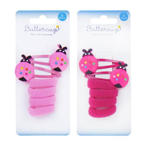 Girls Ladybird Hair Accessories