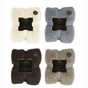 Supersoft Teddy Bear Throw